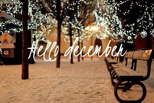 hello decembre